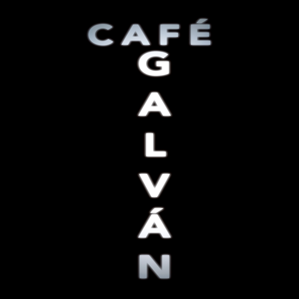 Logotipo del Café Galván, diseñado por JS Marketing Online