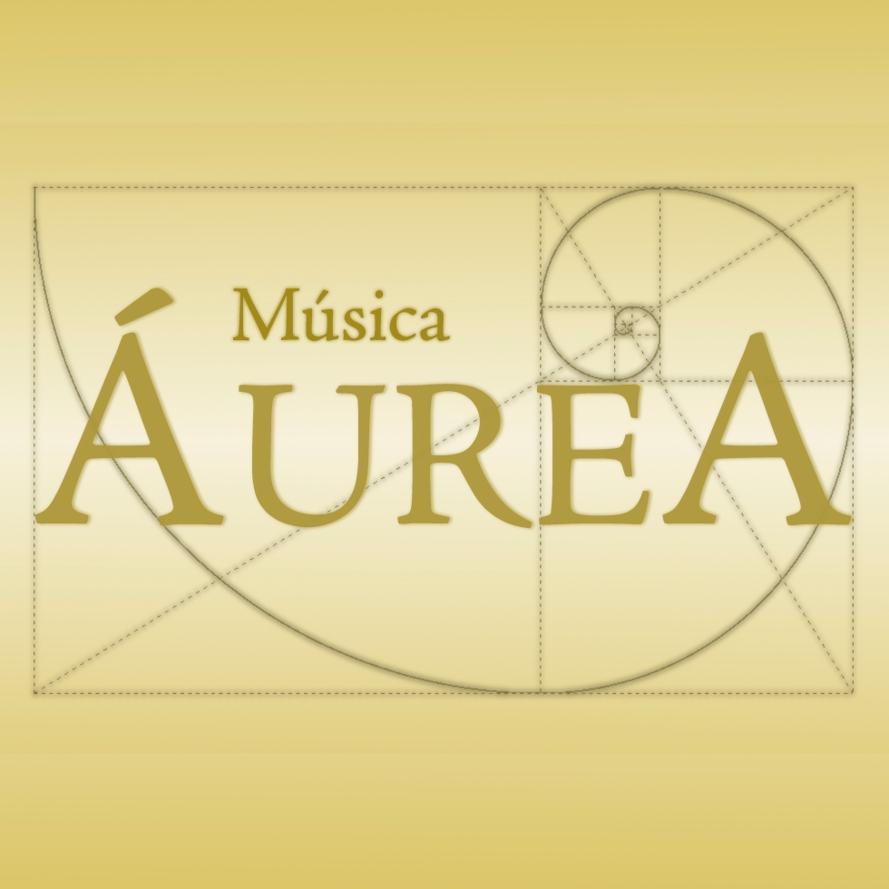 Logotipo de Áurea Música Ensemble, diseñado por JS Marketing Online